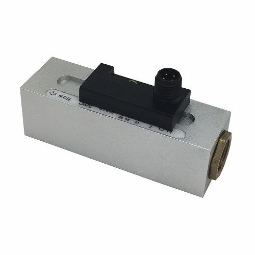 mechanical flow switch / for liquids / for gas / electronic