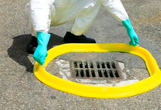 drain cover mat / pollution control / polyurethane / exterior