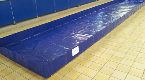 multi-use containment bund / polyester / flexible / folding
