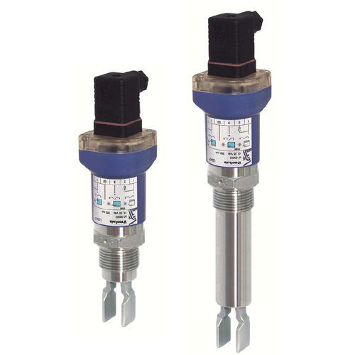 tuning fork level switch / for solids / for liquids / stainless steel