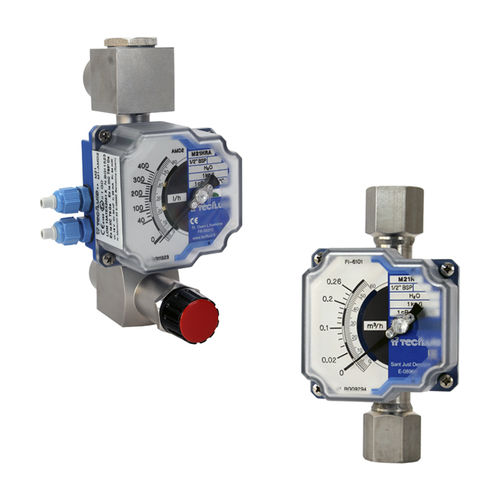 variable-area flow meter - TECFLUID