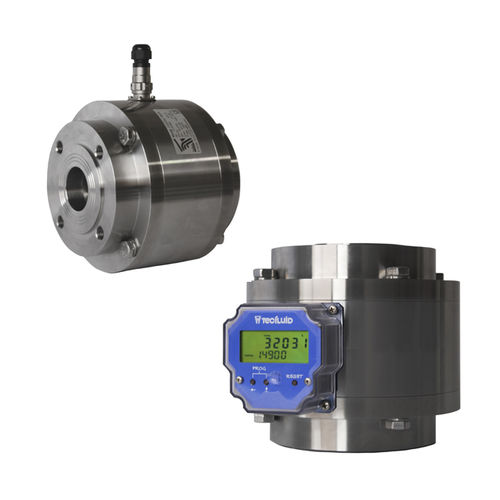 positive displacement flow meter - TECFLUID