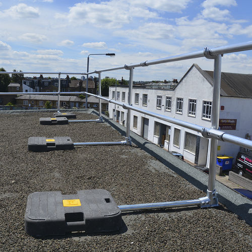 free-standing roof edge protection