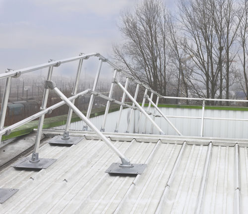 metal roof roof edge protection