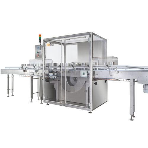 bottle rinsing machine / air / linear