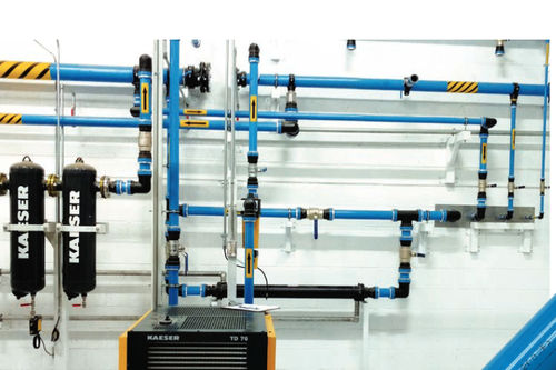 Compressed air pipe - SmartPipe+™ - Kaeser Compressors - aluminum / for compressed air networks / modular