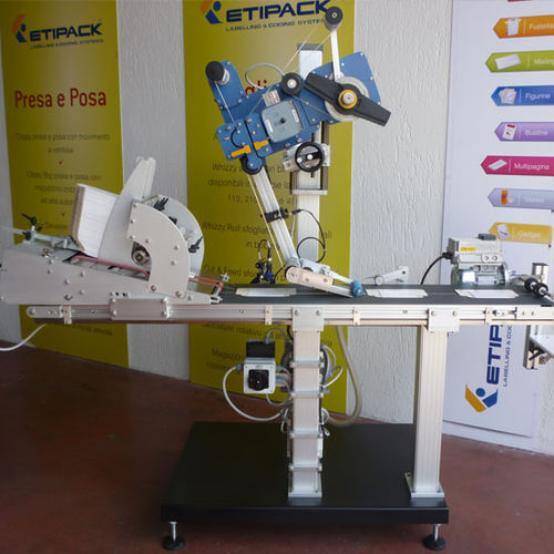 automatic labeler / top / in-line