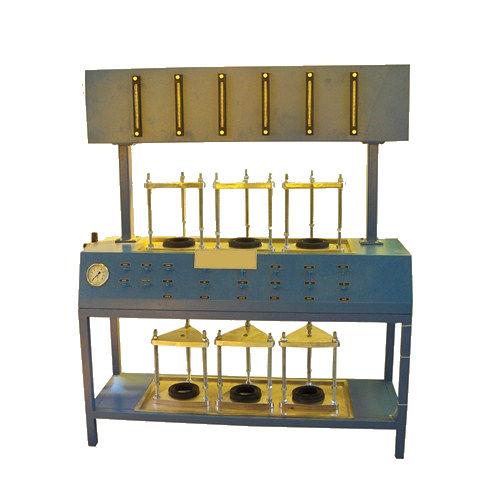 permeability testing device