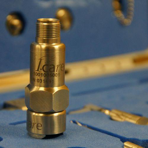 Triaxial accelerometer / vibrating / waterproof / ATEX - IC