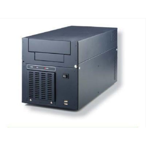 wall-mounted chassis / 6U / 6 slots / industrial