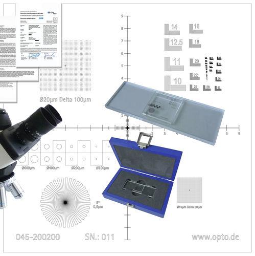 microscope calibration equipment - OPTO