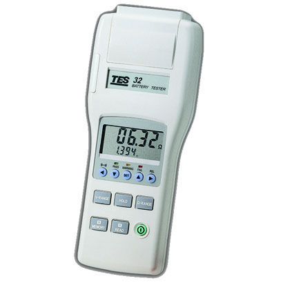 battery impedance tester / voltage / resistance / battery