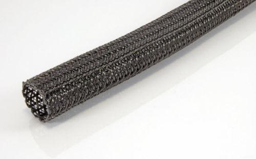 protection sleeve / braided / for hoses / nylon