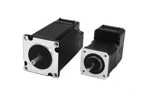 DC motor / stepper / 48V / with integrated controller
