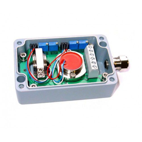 2-axis inclinometer / 4-20 mA / capacitive / high-precision