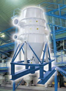 air classifier / particle / high-efficiency