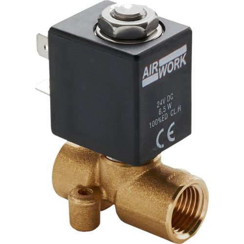 direct-operated solenoid valve / 2/2-way / 3/2-way / NC