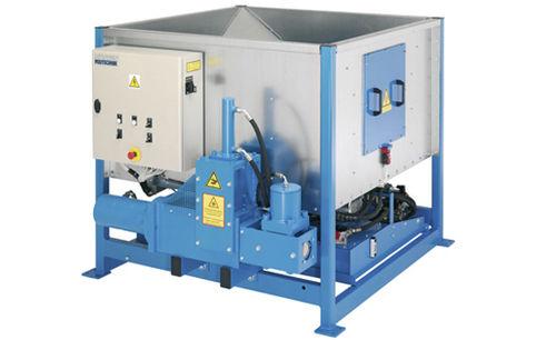 hydraulic briquette press