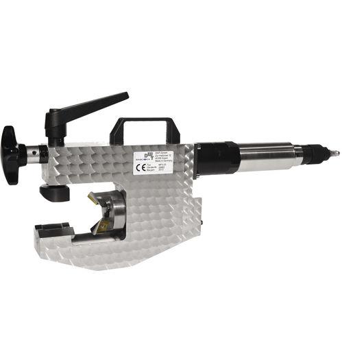 electric chamfering machine / pneumatic / portable / orbital