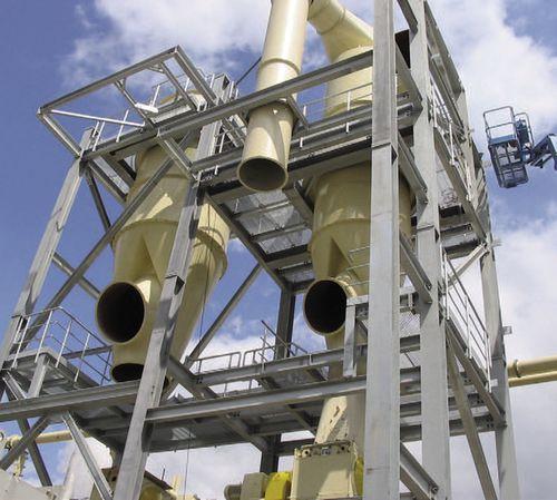 air separator / cyclone / metal / sand