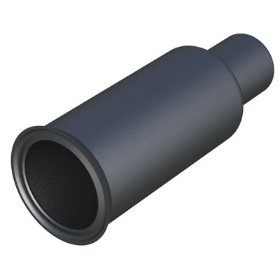 threaded cap / round / polyethylene / protective