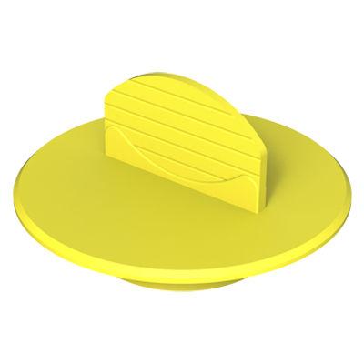finned plug / male / low-density polyethylene (LDPE) / protection