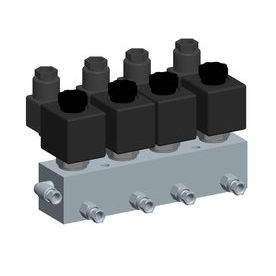 direct-operated solenoid valve / 2-way / NC / NO