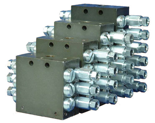 spool hydraulic directional control valve / compact