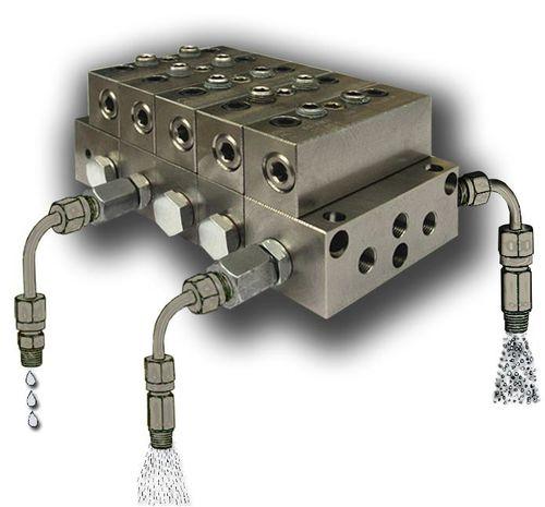 centralized lubrication system progressive feeder - Dropsa spa