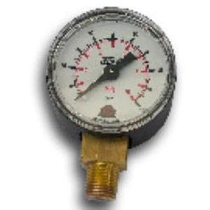 analog pressure gauge / capsule / process / threaded