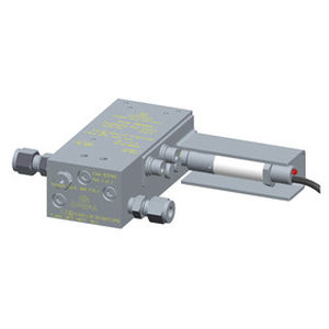 positive displacement flow meter / for oil / insertion