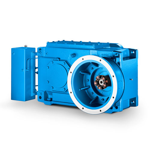 agitator gear-motor / right angle / shaft-mounted / for the food industry