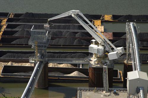 fixed crane / harbor / loading / handling
