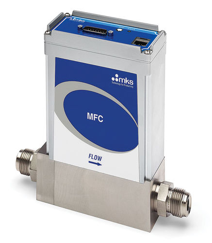 thermal mass flow controller / for gas / analog