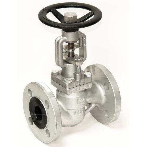 globe valve / with handwheel / for steam / flange