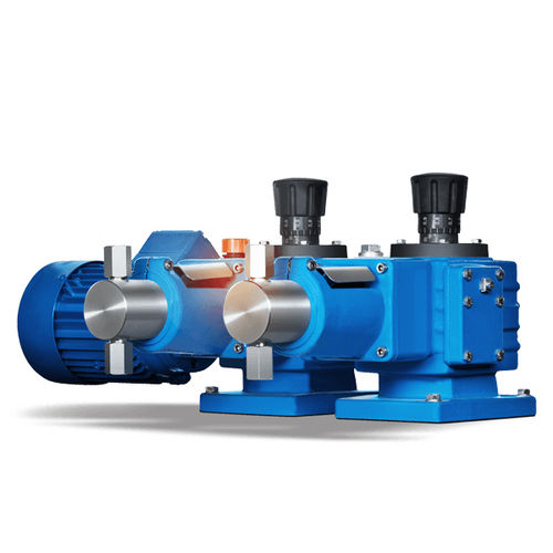 chemical pump / electric / plunger / industrial