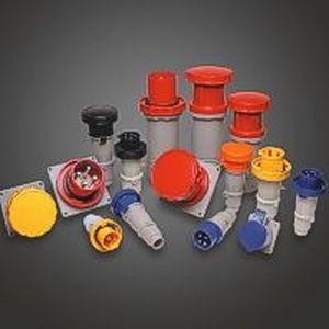 IEC 309 standard plug and socket