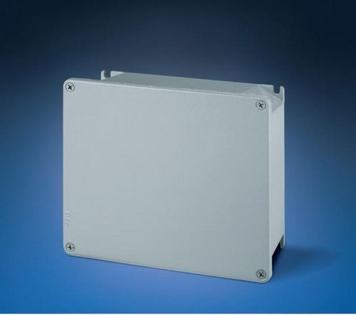 wall-mounted junction box / robust / fire-resistant / aluminum