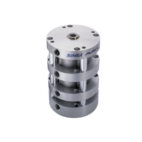 pneumatic cylinder / double-acting / piston / multi-position