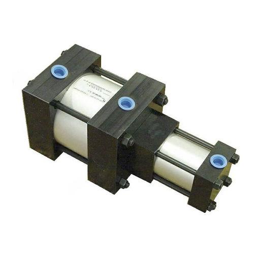 pneumatic pressure intensifier