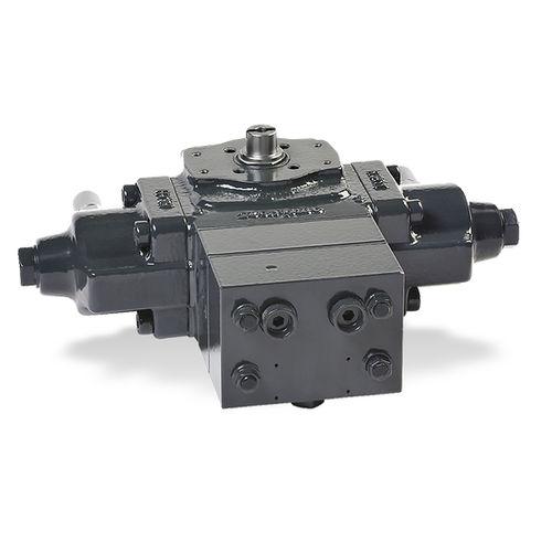 hydraulic valve actuator / rotary / quarter-turn / rack-and-pinion