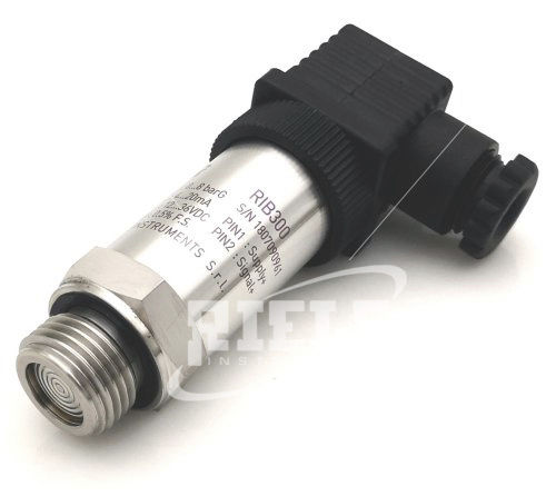 relative pressure transmitter / atmospheric / absolute / silicon
