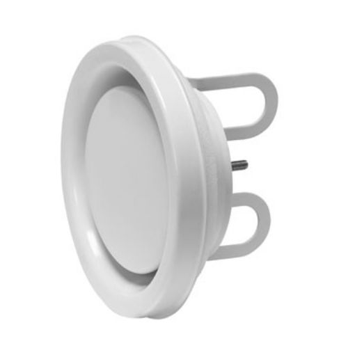 disc valve / manual / for air / sheet metal