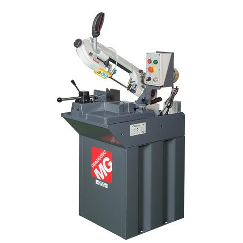 band saw / miter / for steel / variable-speed