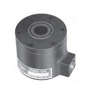pneumatic cylinder / rodless / pull / hollow-shaft