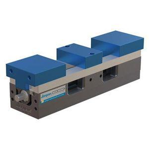 machine tool vise / hydraulic / screw / aluminum