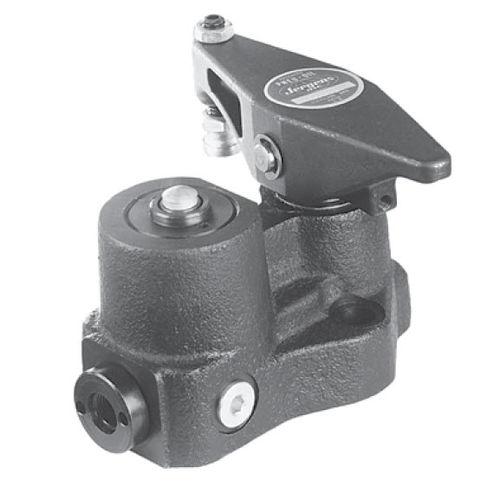 mechanical clamp / swing / vertical / workpiece