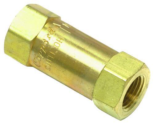 piston check valve / threaded / hydraulic / pneumatic