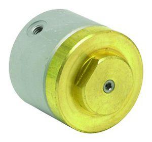 pneumatic valve actuator / linear / spring-return