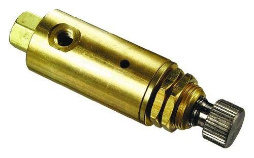 air pressure regulator / single-stage / spring / compact